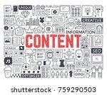 content   hand drawn vector...   Shutterstock .eps vector #759290503