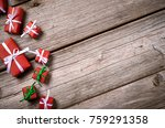 merry christmas. decoration for ... | Shutterstock . vector #759291358