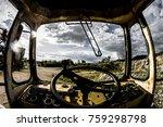 abandoned industrial scrap | Shutterstock . vector #759298798
