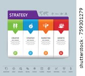 success direction  template...   Shutterstock .eps vector #759301279