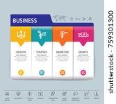 success direction  template...   Shutterstock .eps vector #759301300