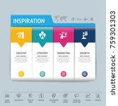 success direction  template...   Shutterstock .eps vector #759301303
