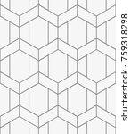 vector seamless pattern. modern ... | Shutterstock .eps vector #759318298