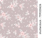 fashionable pattern in small... | Shutterstock . vector #759320626