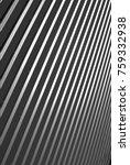 industrial corrugated steel... | Shutterstock . vector #759332938