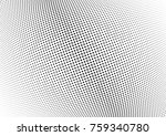 abstract halftone wave dotted
