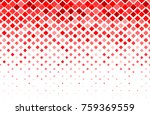 Stock vector fade square random color red background 759369559