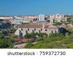 Small photo of Ancient military hospital on island of Isla-del-Ray. Maon, Menorca, Spain