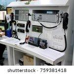 emergency room industrial port | Shutterstock . vector #759381418