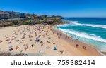 tammaramma beach in summer with ... | Shutterstock . vector #759382414