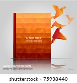book cover  creative book... | Shutterstock .eps vector #75938440