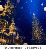 european christmas  christmas... | Shutterstock . vector #759389536