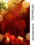christmas holidays ornament ... | Shutterstock . vector #759390160