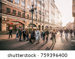 moscow  russia   september 21 ... | Shutterstock . vector #759396400