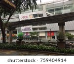 malaysia   nov 19  2017  aeon... | Shutterstock . vector #759404914