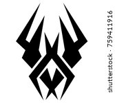 tattoos ideas designs   tribal... | Shutterstock .eps vector #759411916
