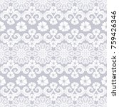 seamless pattern with lace. ...   Shutterstock .eps vector #759426346