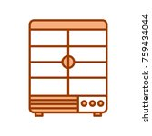 merchandising refrigerator... | Shutterstock .eps vector #759434044