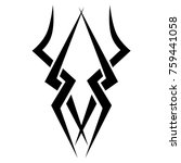 tattoos ideas designs   tribal... | Shutterstock .eps vector #759441058