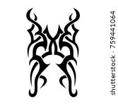 tattoo designs. tattoo tribal... | Shutterstock .eps vector #759441064