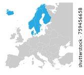 scandinavian states denmark ...   Shutterstock .eps vector #759456658