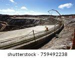 industrial building  foundation ... | Shutterstock . vector #759492238