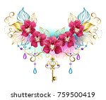 symmetrical composition of...   Shutterstock .eps vector #759500419
