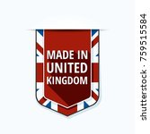 made in united kingdom of great ... | Shutterstock .eps vector #759515584