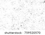 grunge black and white pattern. ... | Shutterstock . vector #759520570
