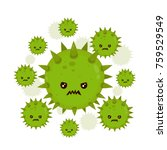 Cute Angry Evil Bad Fly Germ...
