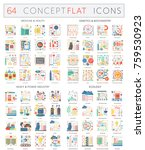 infographics concept icons of... | Shutterstock .eps vector #759530923