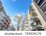 modern residential architecture ... | Shutterstock . vector #759539170