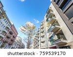 modern residential architecture ...   Shutterstock . vector #759539170