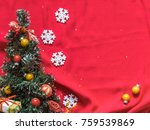 christmas tree  white... | Shutterstock . vector #759539869