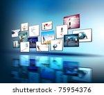 Media Stream Of High Technolog...