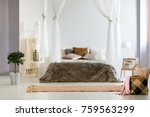 luxurious interior of... | Shutterstock . vector #759563299