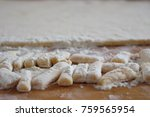 dough for cooking a national... | Shutterstock . vector #759565954