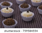 traditional brazilian sweet ... | Shutterstock . vector #759584554