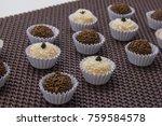 traditional brazilian sweet ... | Shutterstock . vector #759584578