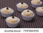 traditional brazilian sweet... | Shutterstock . vector #759584590