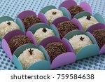traditional brazilian sweet ... | Shutterstock . vector #759584638