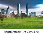 meadows at parque bicentenario  ... | Shutterstock . vector #759593170