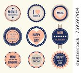 best quality stamps  stickers... | Shutterstock .eps vector #759597904