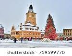 brasov  romania   6 january...   Shutterstock . vector #759599770