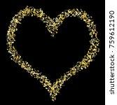 vector confetti background... | Shutterstock .eps vector #759612190