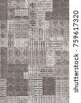 modern pattern beige for carpet | Shutterstock . vector #759617320