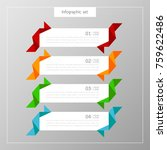 banners infographics template...   Shutterstock .eps vector #759622486