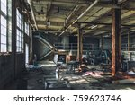 Abandoned Decaying Room