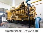 diesel standby generator   Shutterstock . vector #75964648