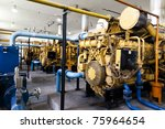 electrical power generator | Shutterstock . vector #75964654